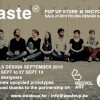 14/09/13 : Waste'Up POP'Up Store @ Recyclart
